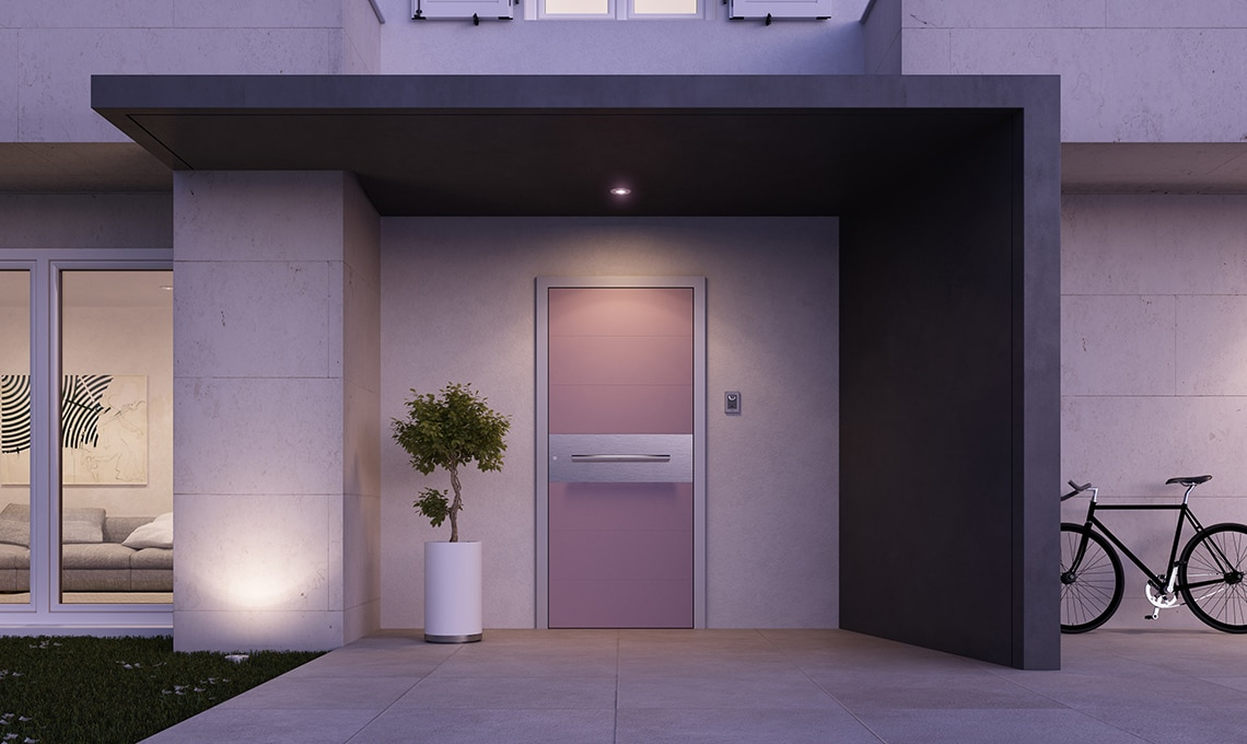 Porta blindata di design