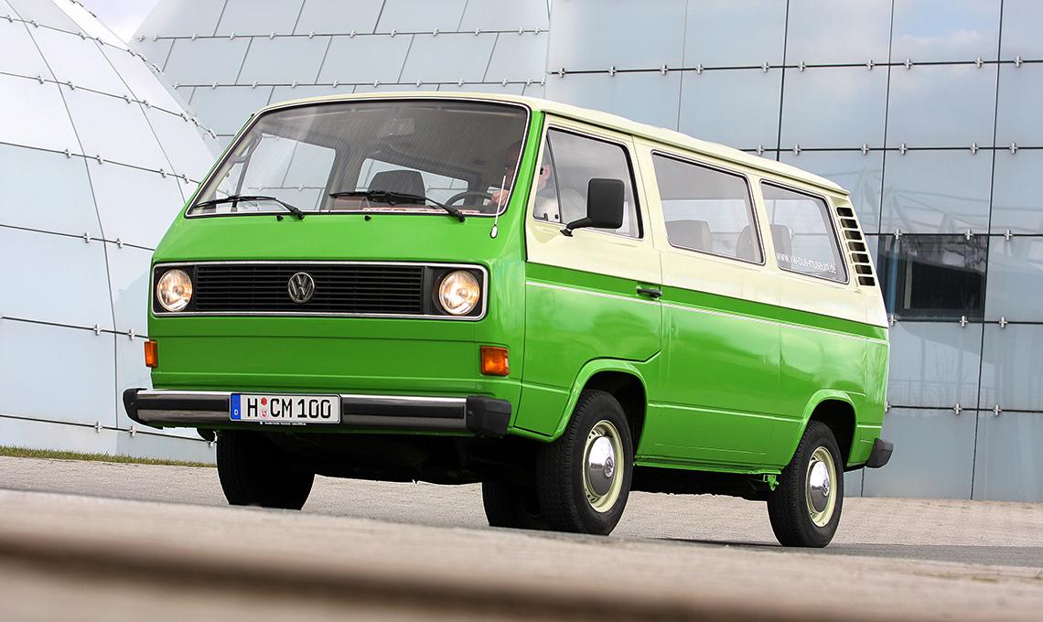 Furgoncino T2 della Volkswagen