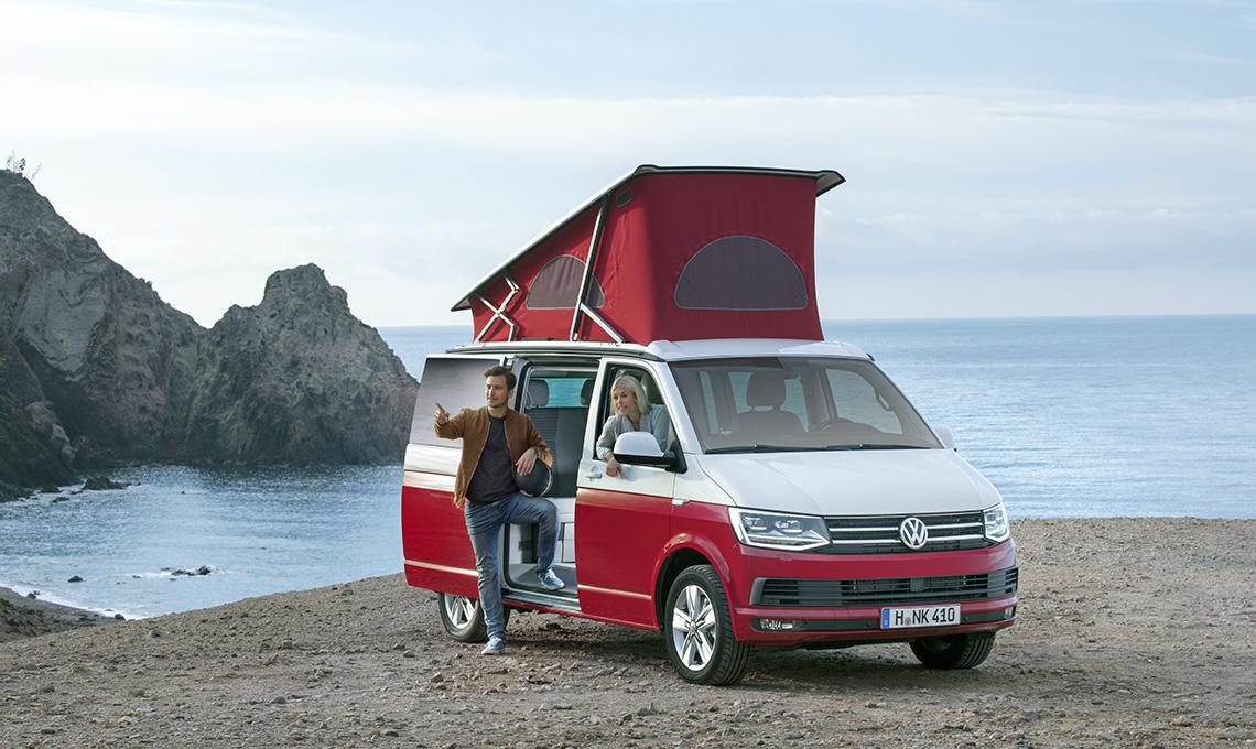 Furgoncino T2 Volkswagen camper