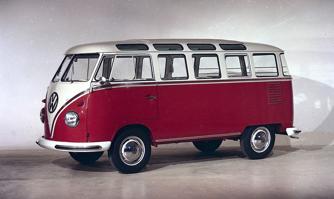 T1 il furgoncino Volkswagen
