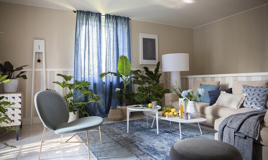 Il soggiorno cambia look