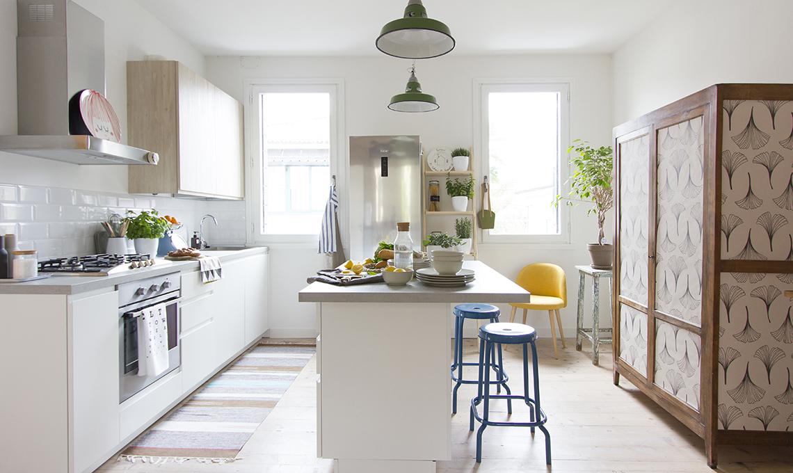 Idee e soluzioni per una casa in stile nordico con arredi for Idee arredamento soggiorno fai da te