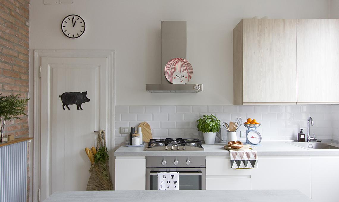 Idee e soluzioni per una casa in stile nordico con arredi for Arredamento originale casa