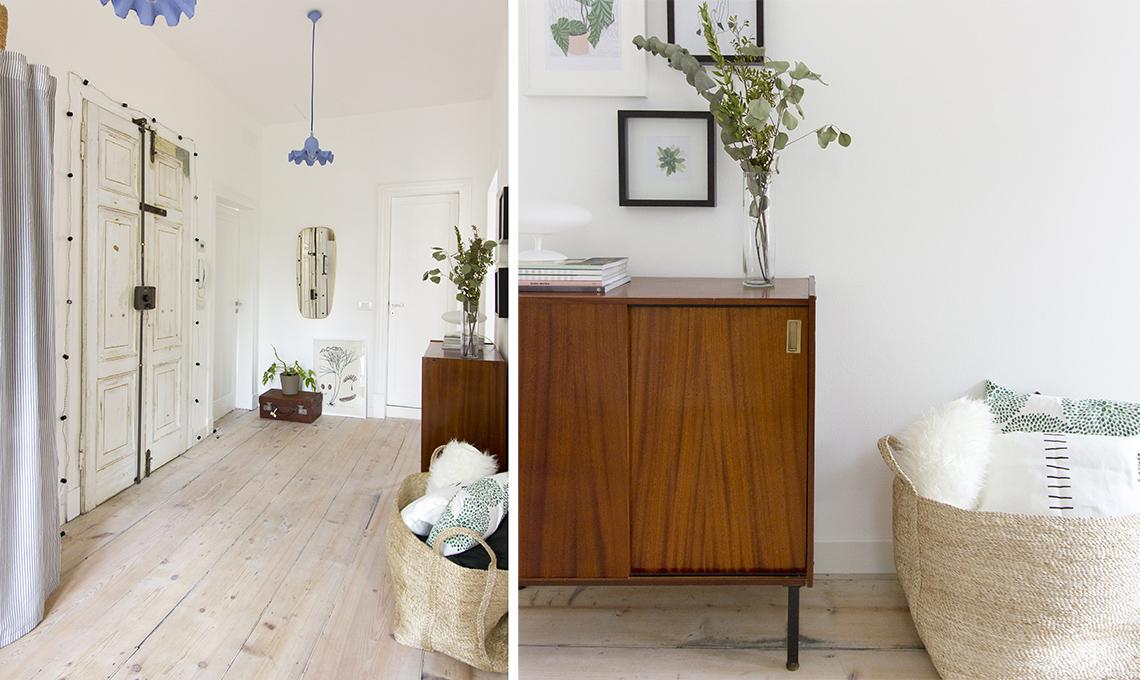 Idee e soluzioni per una casa in stile nordico con arredi Soluzioni per ingresso casa