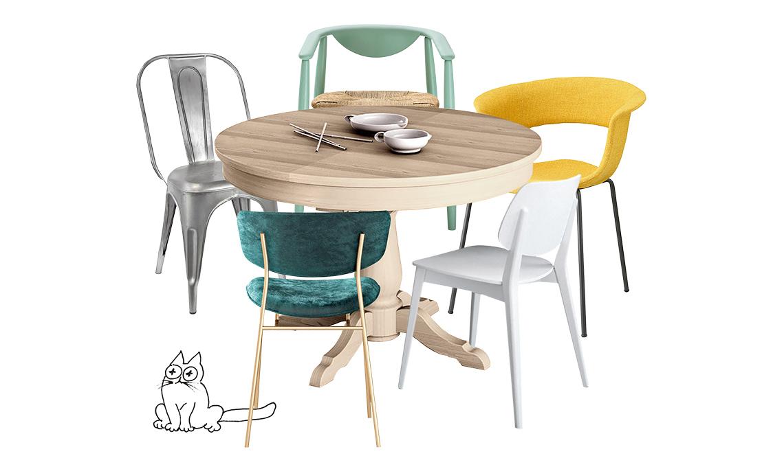 tavolo tondo classico