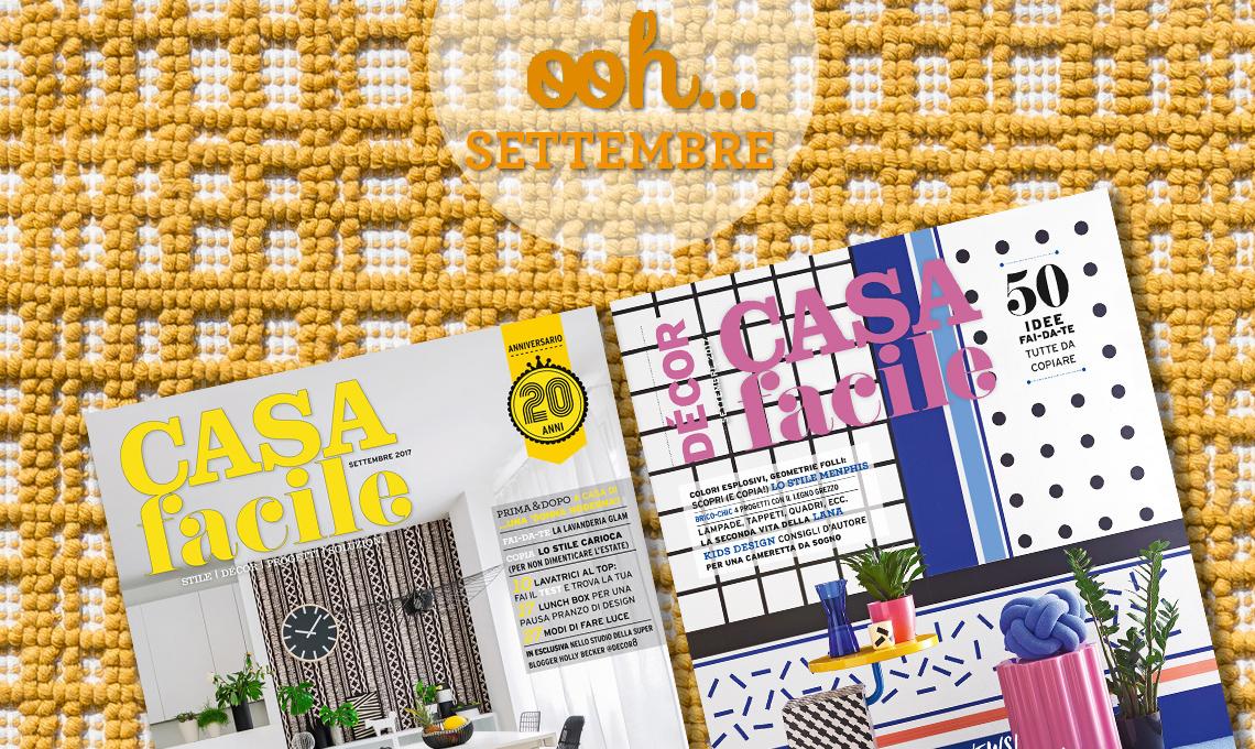 casafacile numero di settembre 2017