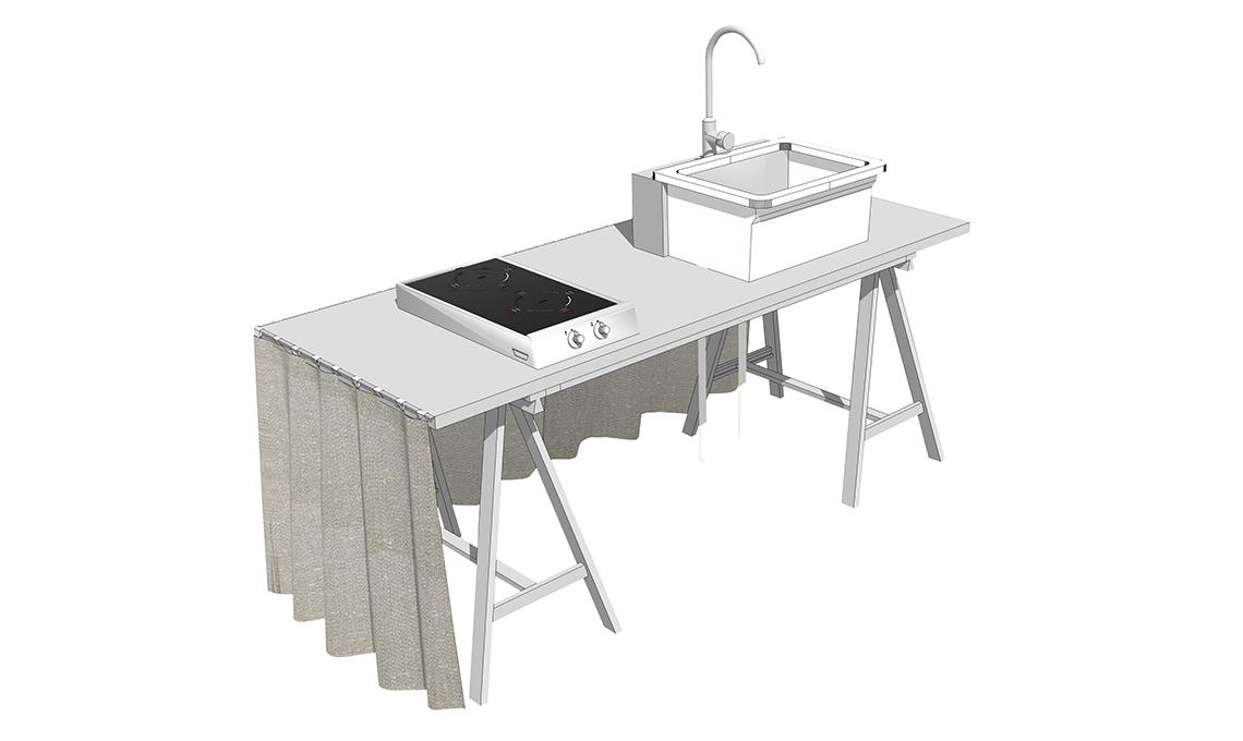 Costruisci la prima cucina con le tue mani casafacile for Costruisci le tue planimetrie domestiche