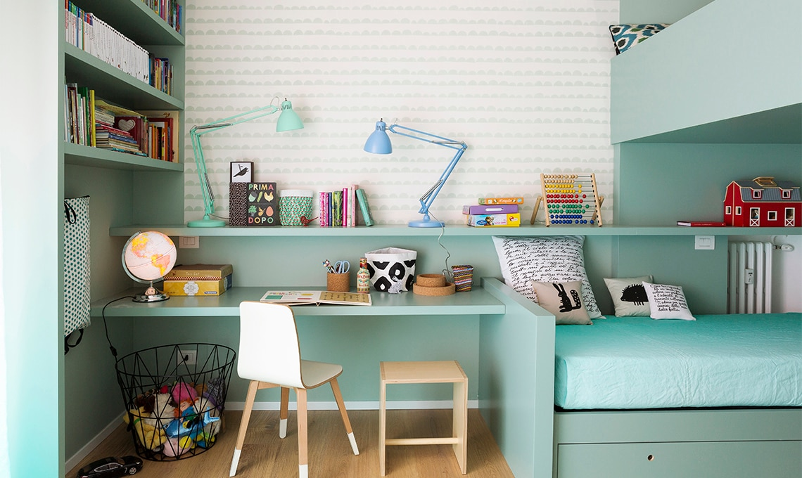 Progettare una cameretta per due casafacile - Idee per pitturare una cameretta ...