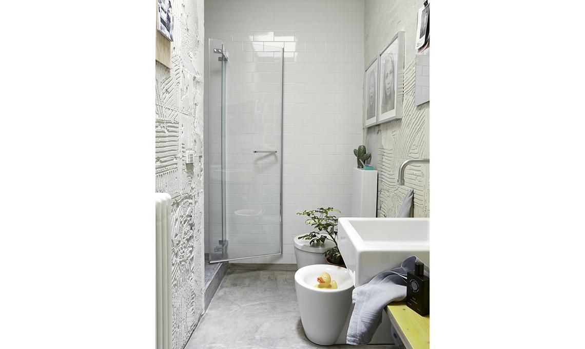 bagno in stile industrial