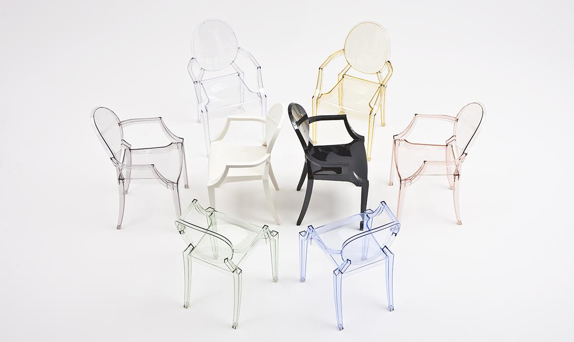Sedie E Poltroncine Kartell.La Sedia Kartell Louis Ghost Di Philippe Starck Casafacile