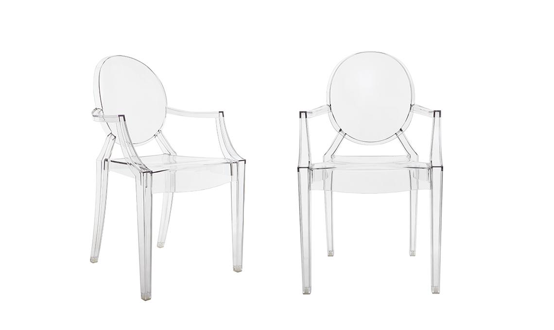 La sedia Kartell \'Louis Ghost\' di Philippe Starck - CASAfacile