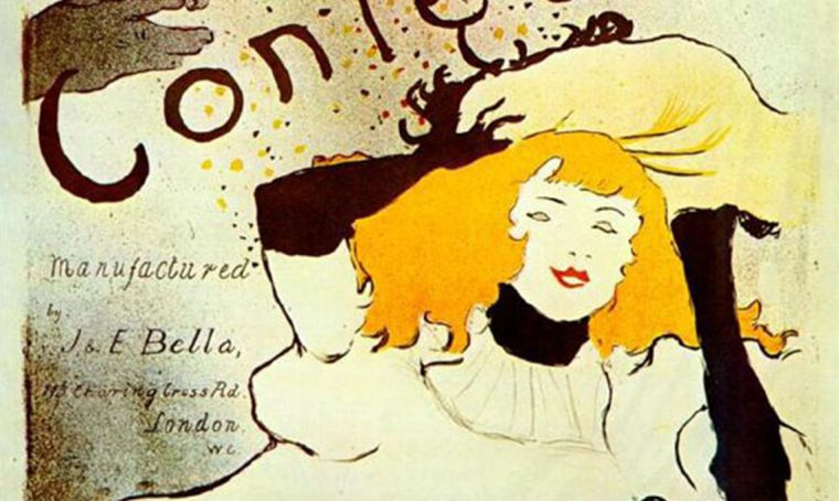 Arredare con i manifesti di Toulouse-Lautrec