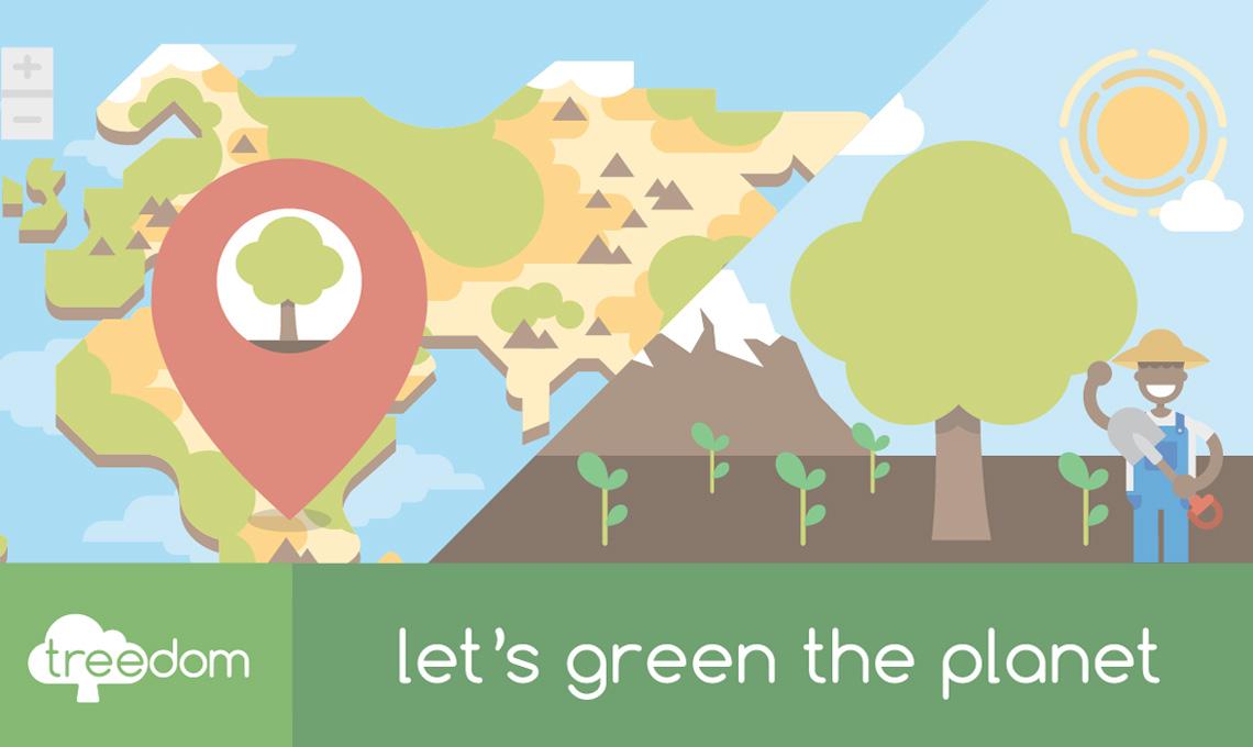 Buone azioni green - e una bellissima idea regalo - per aiutare l'agricoltura di zone svantaggiate del mondo / treedom.net