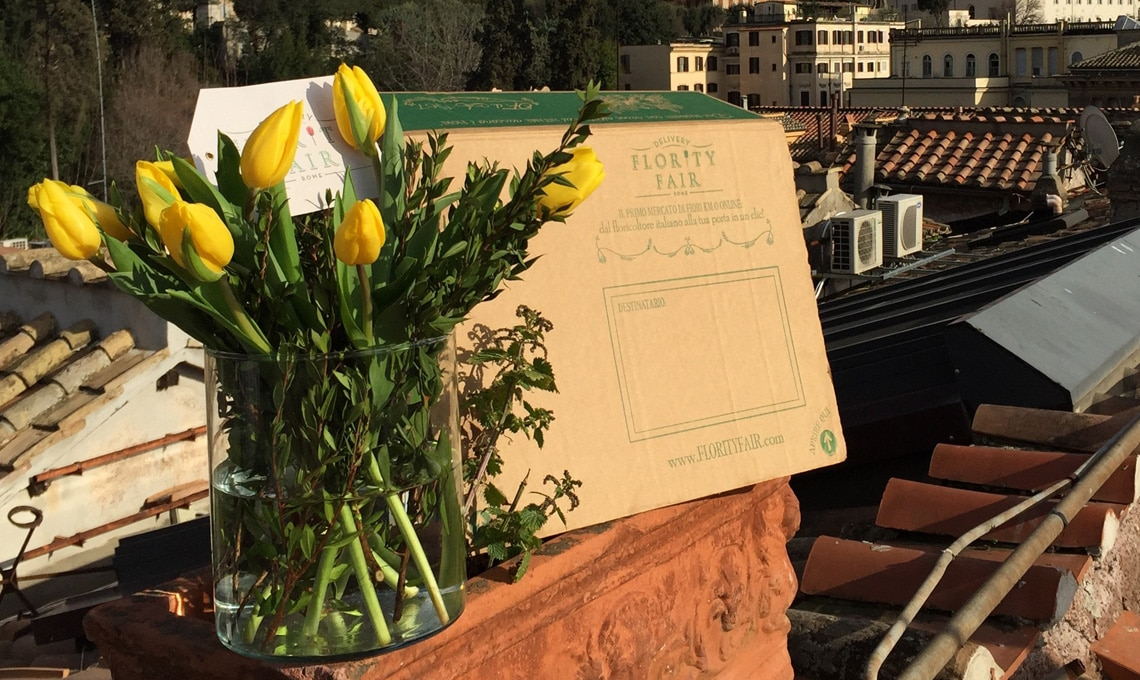 La box di fiori che arriva direttamente a casa / florityfair.it
