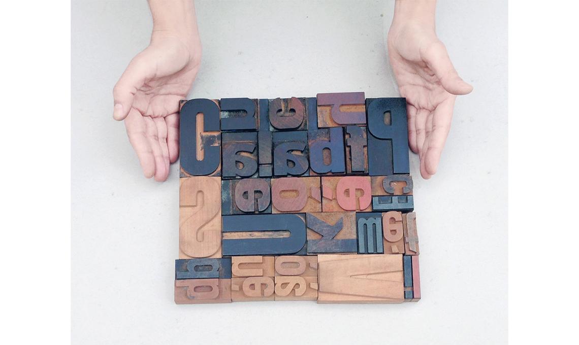 CasaFacile caratteri tipografici vintage su Etsy