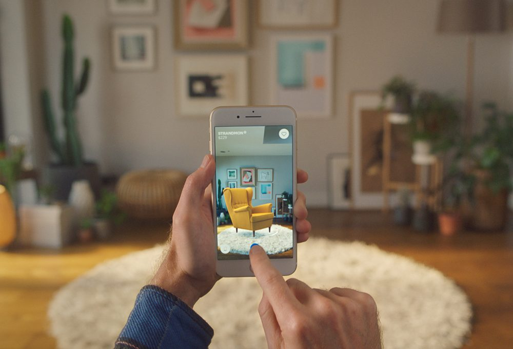 La nuova app di Ikea ti aiuta ad arredare casa con la realtà aumentata