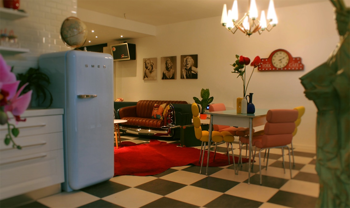 CasaFacile case dei lettori stile Anni '50
