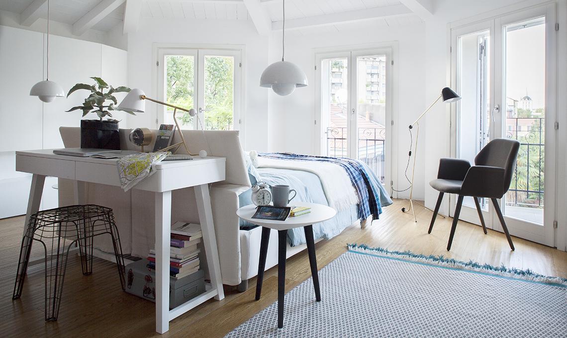 La dislessia di casa casafacile - Angolo studio in camera da letto ...