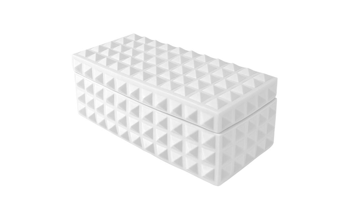 scatola con decorazione a rilievo