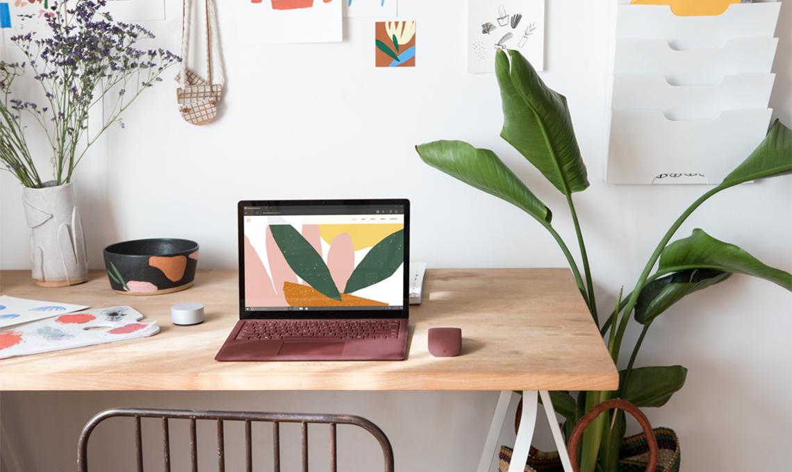 Casa Facile laptop Alcantara