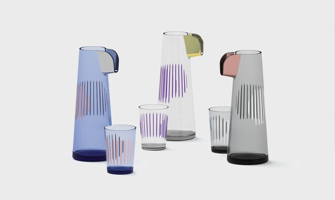 caraffa bicchiere