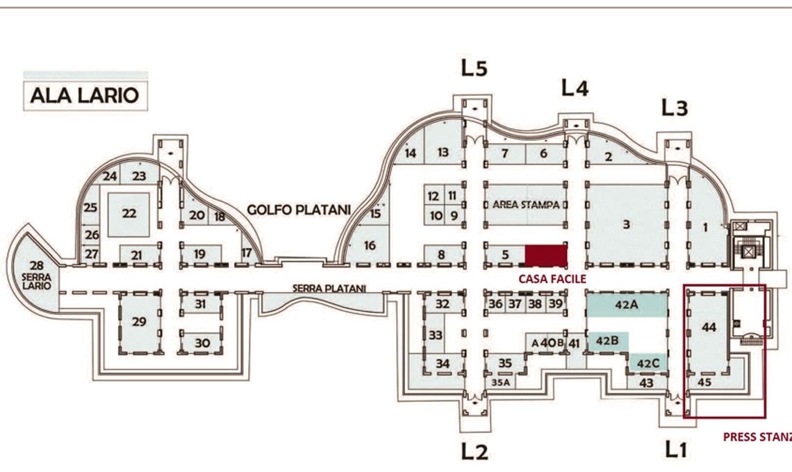 mappa stand casafacile