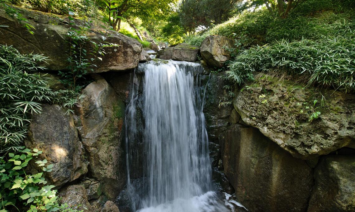 Cascata nei boschi del Mondo - Giardini di Castel Trauttmansdorff