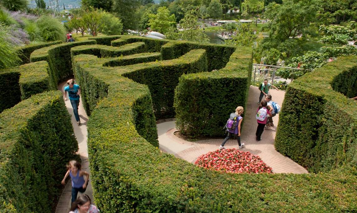 Labirinto di siepi - Giardini di Castel Trauttmansdorff