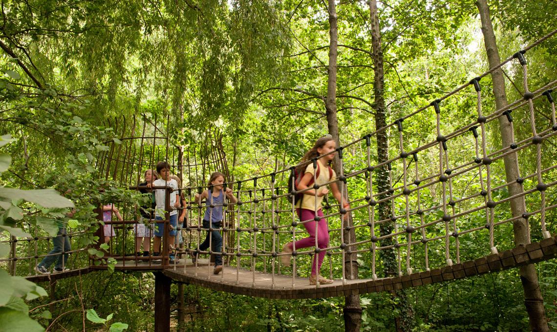 Ponte delle Avventure - Giardini di Castel Trauttmansdorff