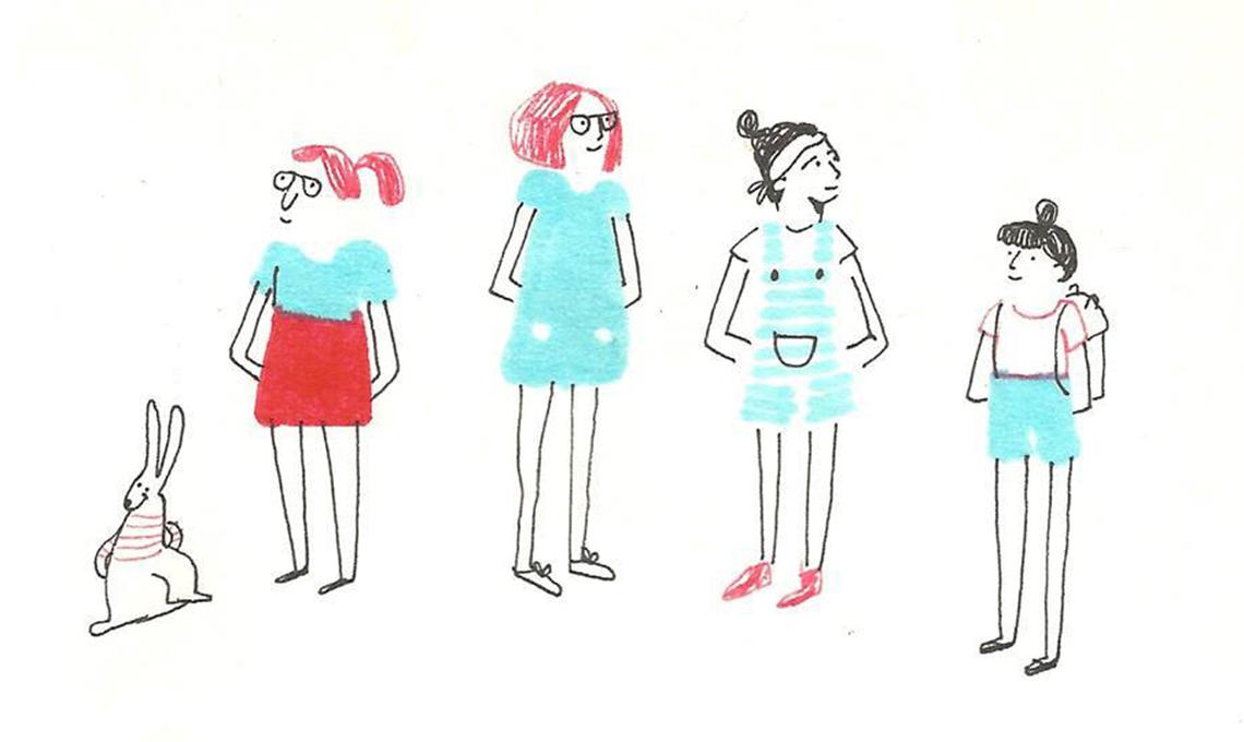Illustrazione collettivo Blanca