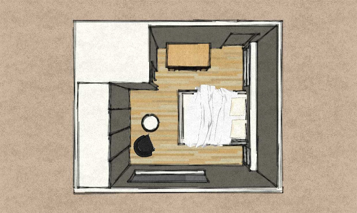 moltiplicare lo spazio in camera