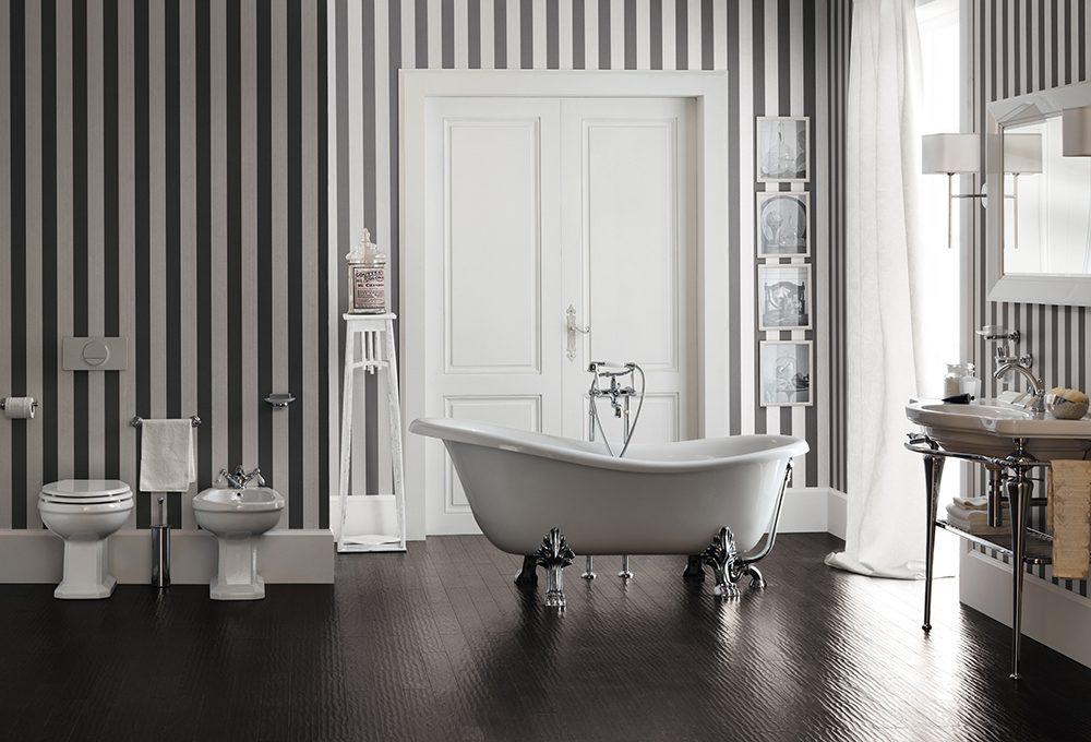 Idee per arredare un bagno moderno casafacile for Idee x arredare