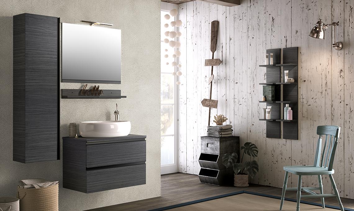 Idee per arredare un bagno moderno casafacile - Bagno 4 mq arredo ...
