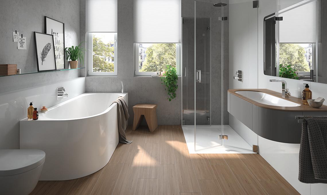 Idee per arredare un bagno moderno casafacile - Idee per il bagno ...