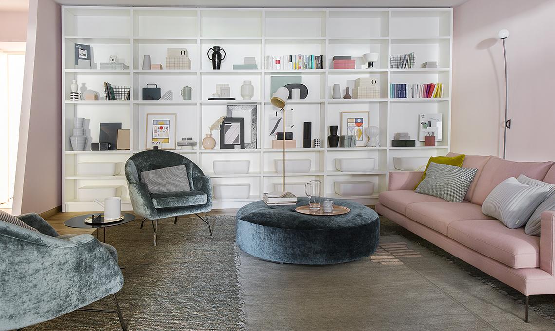 libreria a tutta parete