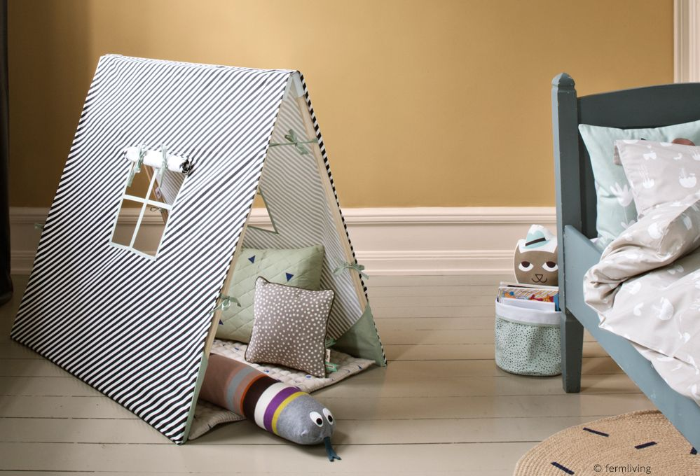 Baldacchini, tende da indiani e casette per la cameretta dei bambini