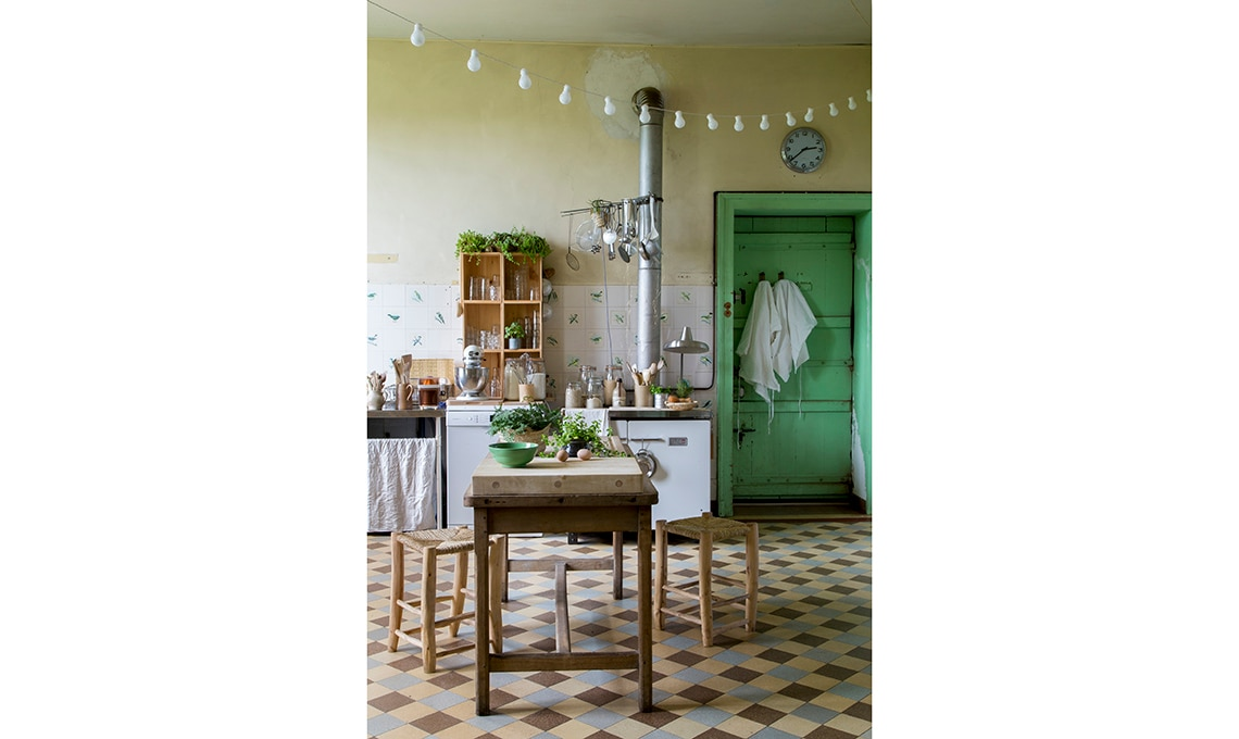 cucina shabby country
