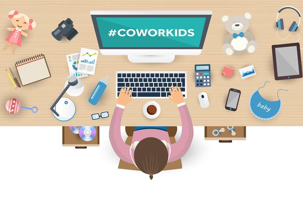 Un coworking speciale per mamme e bambini