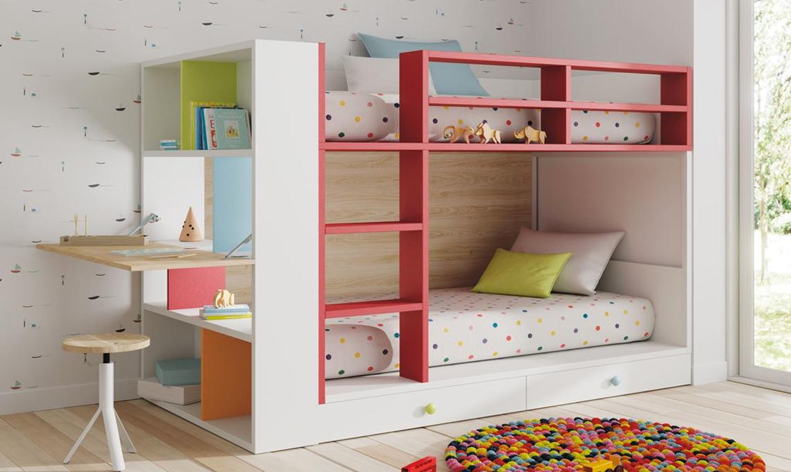 Letti a castello per i bambini casafacile for Letti a soppalco per adulti