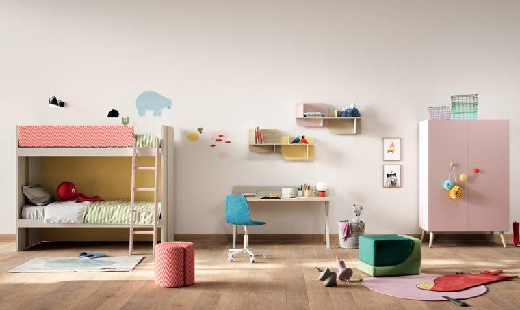 Letti a castello per i bambini