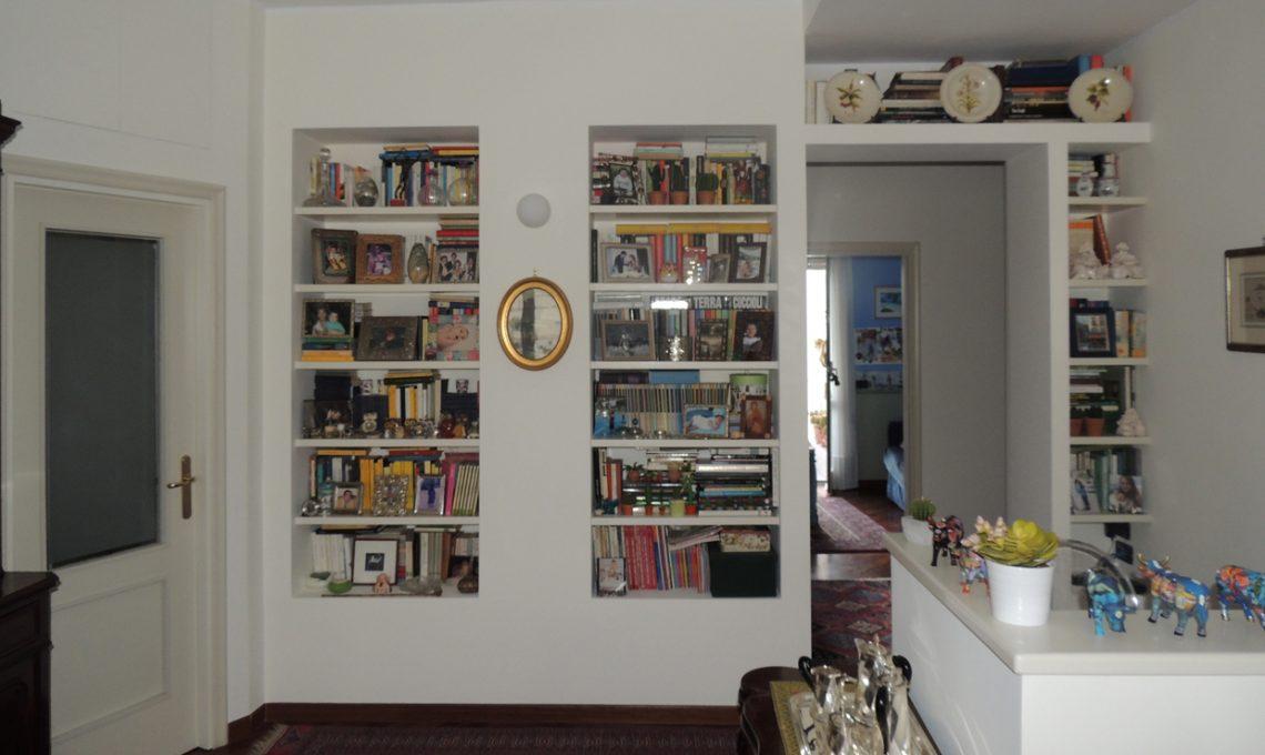 Cabina Armadio Cartongesso Zone : Come fare una libreria in cartongesso casafacile