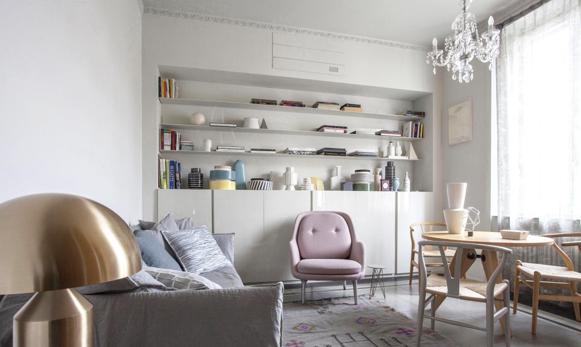 Pareti Soggiorno Tv : Come fare una libreria in cartongesso casafacile