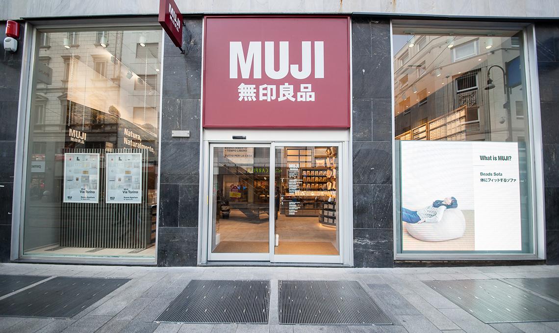 Il nuovo negozio muji nel centro di milano casafacile for Piani casa negozio