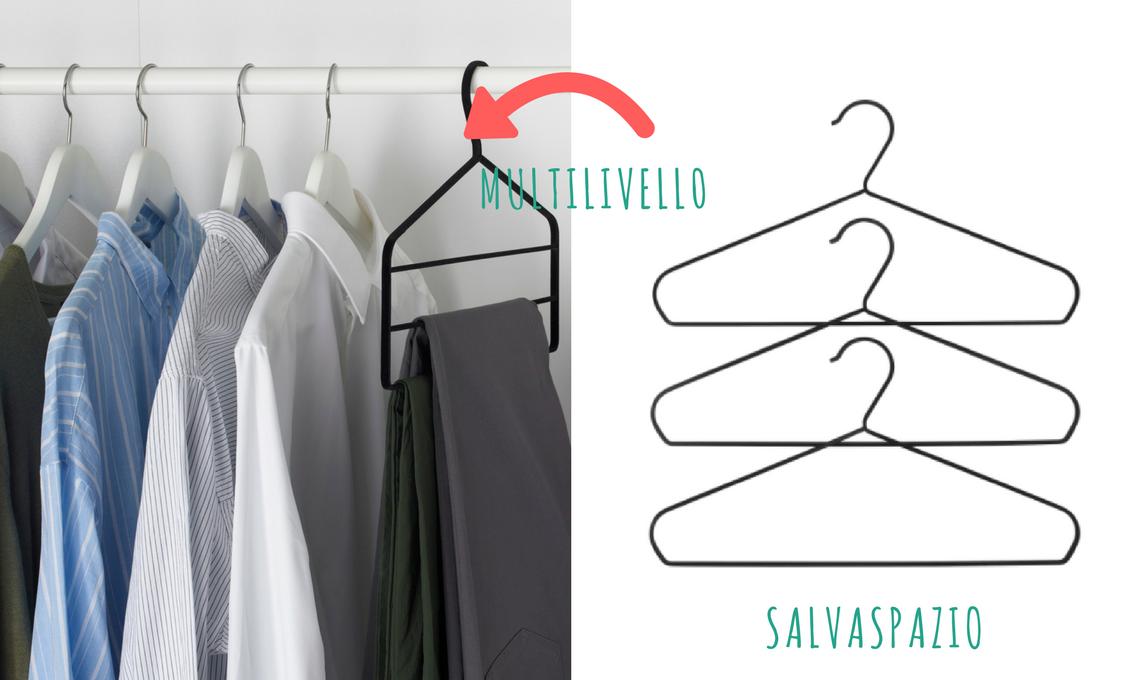Cambio dell armadio la guida per scegliere gli accessori for Elvarli ikea misure