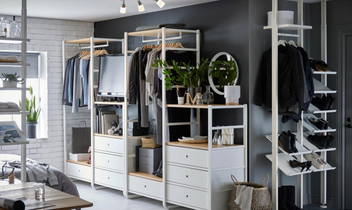 Cambio dell armadio la guida per scegliere gli accessori for Armadio stoffa ikea