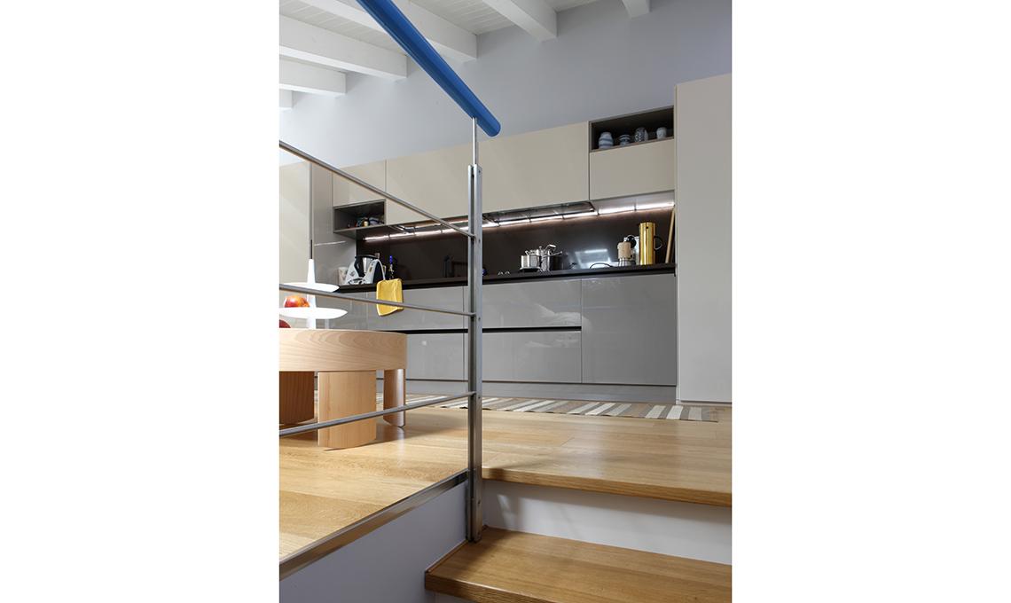 cucina moderna a vista