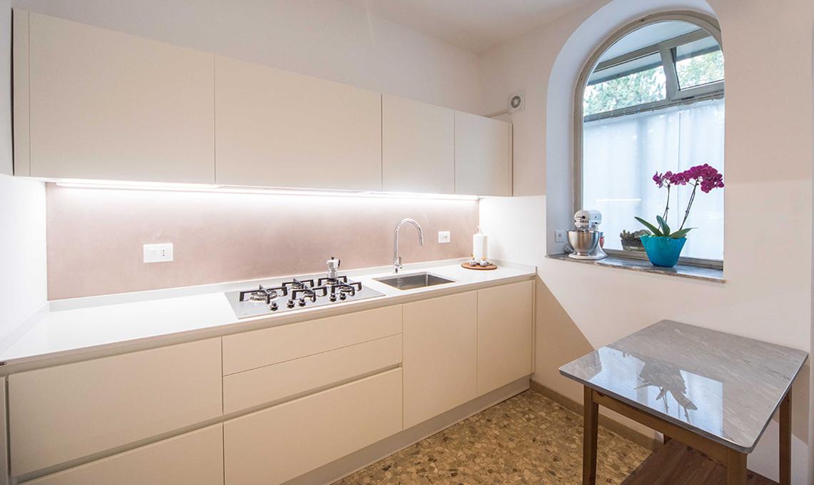 Pavimento in graniglia in una casa moderna casafacile