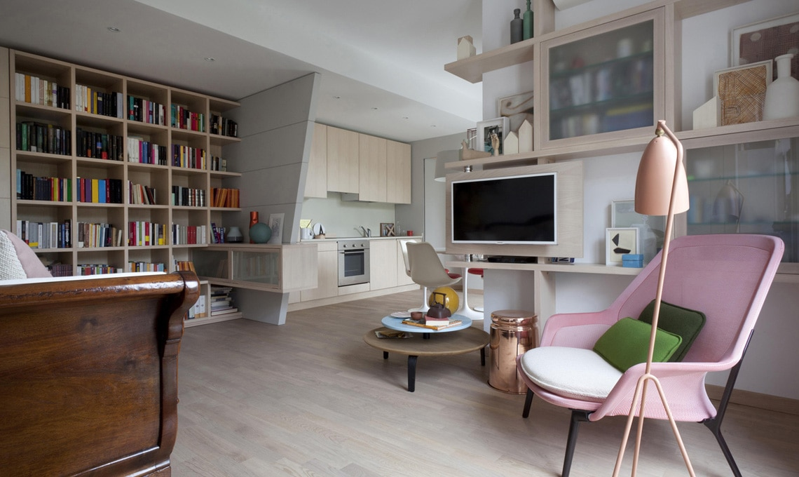 Consigli per tenere in ordine il soggiorno casafacile - Arredare soggiorno rettangolare ...