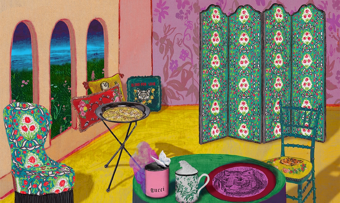 Casa Facile collezione casa Gucci