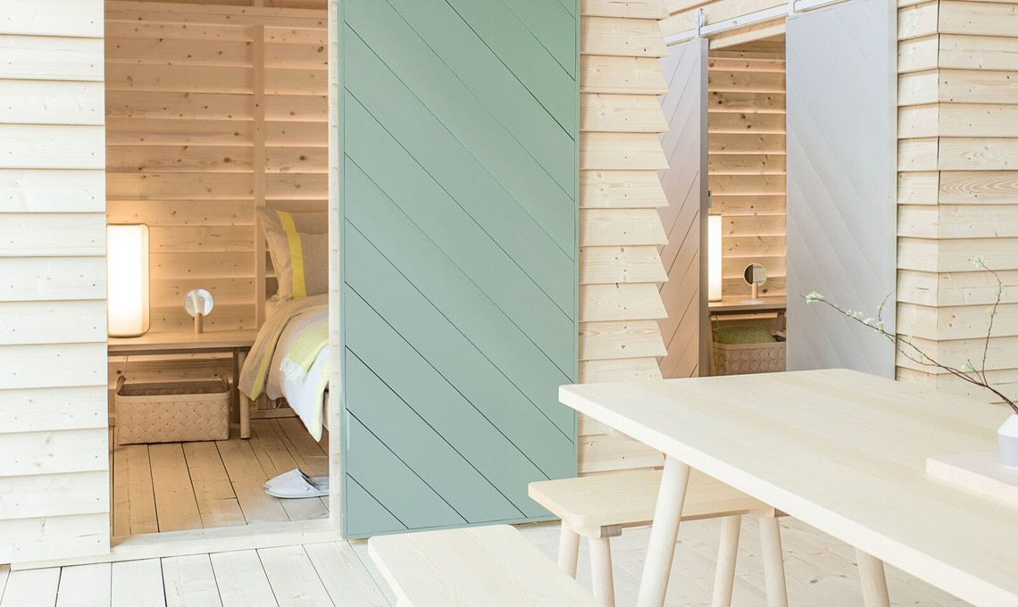 KOTI: cottage di design nel centro di Helsinki